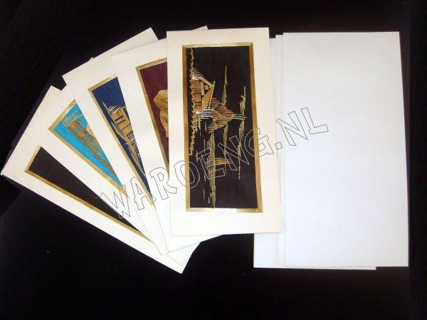 Assorted cards 20x10cm/ set 10 - Click Image to Close