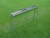 Staande Sate Barbecue 120cm