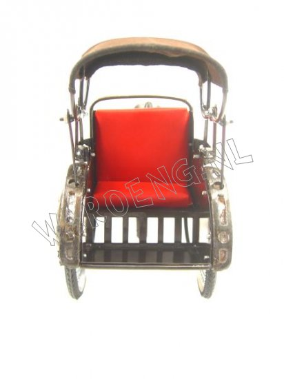 Becak Miniature - Click Image to Close
